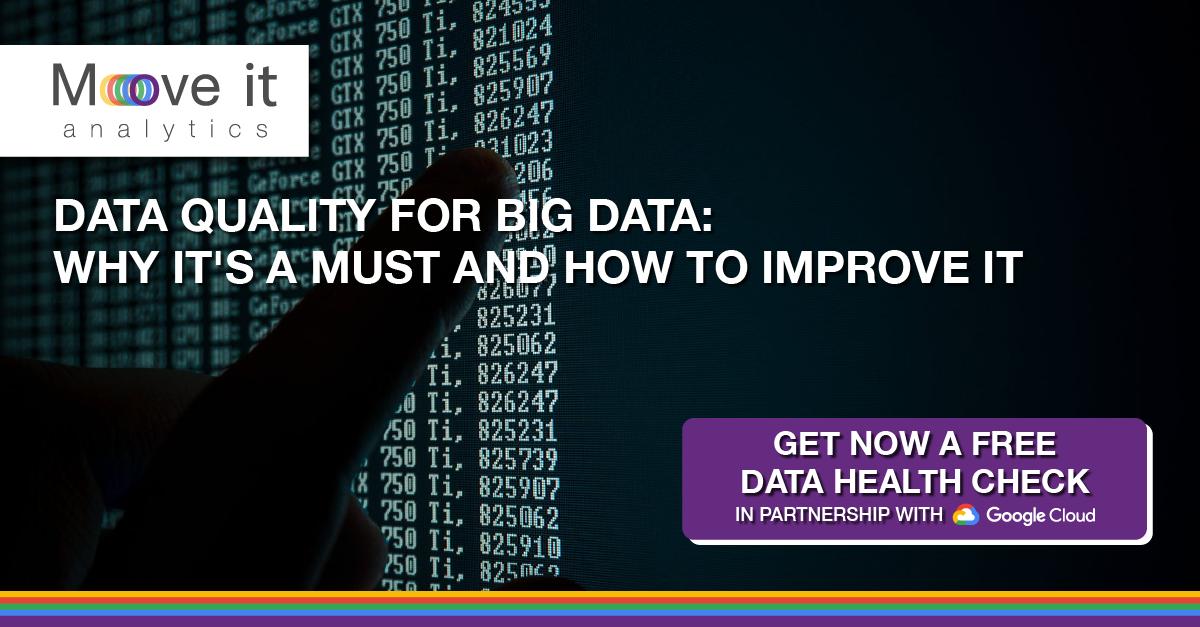 Data quality for big data