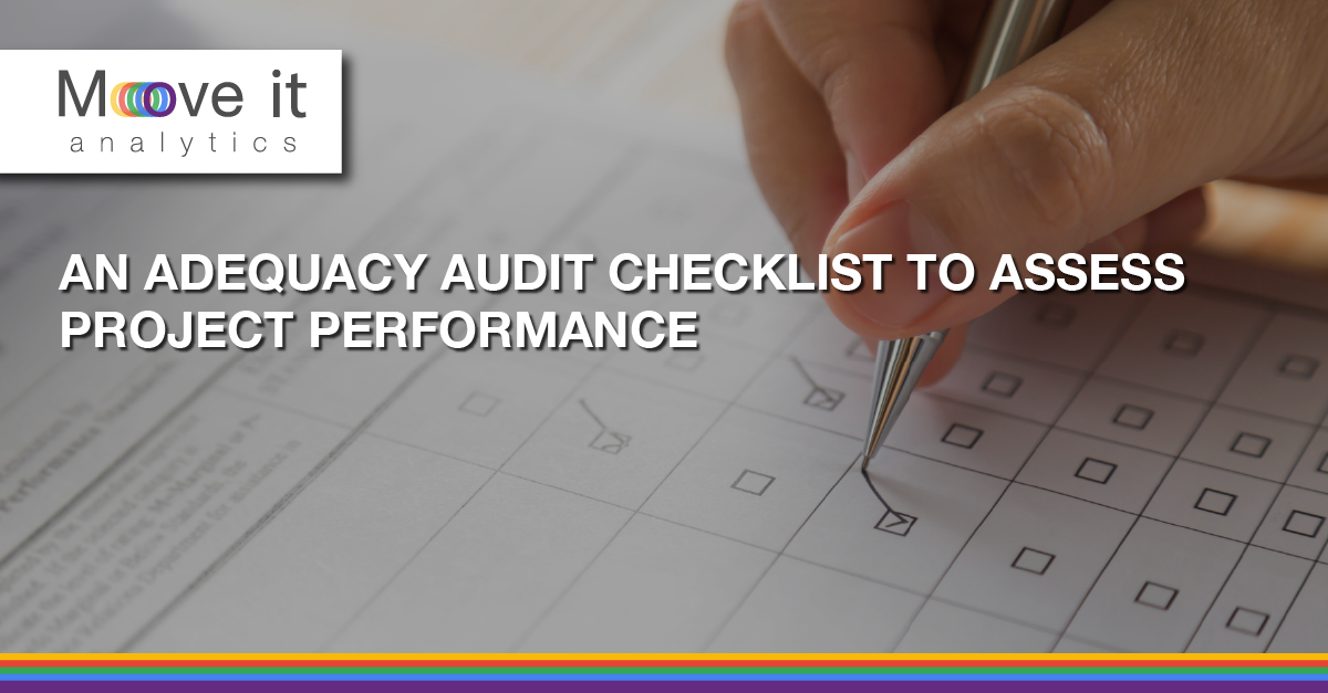 Project performance checklist